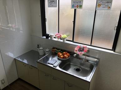 キッチンの話(単身向け賃貸物件)の画像