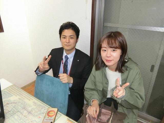 M・Y様(2019年11月15日 エールーム池袋ご利用)の画像
