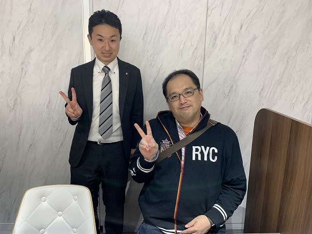 Y・O様(2019年11月16日 プレミアムレントTOKYO新宿ご利用)の画像