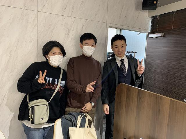 T・S様(2020年03月20日 プレミアムレントTOKYO新宿ご利用)の画像