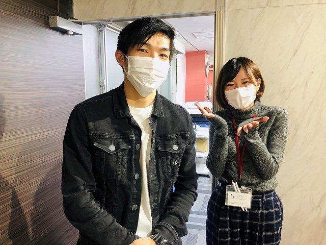 U・T様(2020年03月26日 プレミアムレントTOKYO新宿ご利用)の画像