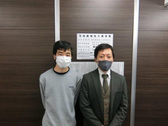 Y・T様(2020年12月25日 プレミアムレントTOKYO新宿ご利用)の画像