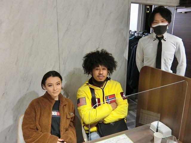 R・T様(2021年01月12日 プレミアムレントTOKYO新宿ご利用)の画像