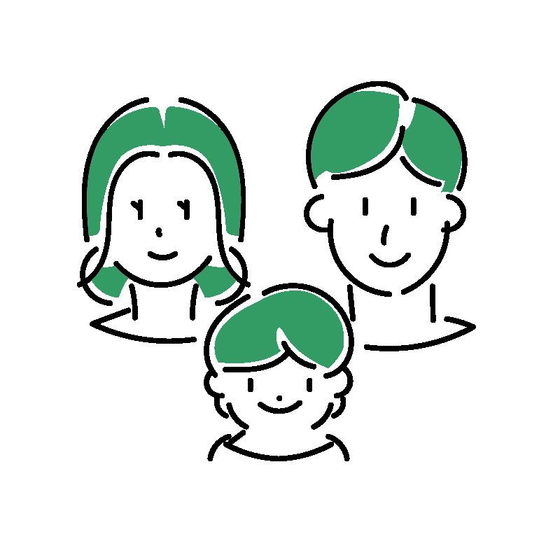 T様ご家族の画像