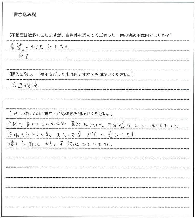 鈴政 慎二様(仮名)【購入】の画像