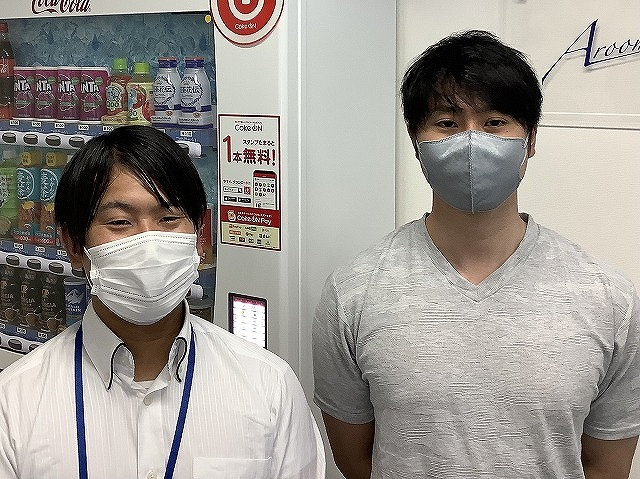 K・Y様(2021年09月14日 エールーム船橋店ご利用)の画像