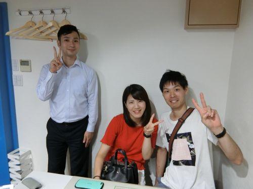 N・H様(2017年9月15日 エールーム池袋店ご利用)の画像