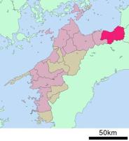 愛媛県四国中央市近辺の画像