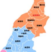 新潟県新発田市近辺の画像