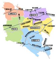 東京都世田谷区近辺の画像