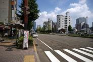 車道近辺の画像