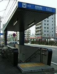 志賀本通近辺の画像
