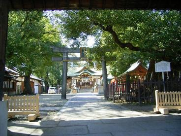 阿遅速雄(あちはやお)神社の画像1