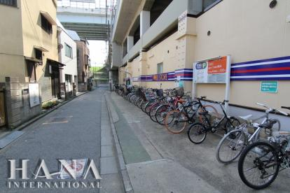 小菅駅前駐輪場の画像1