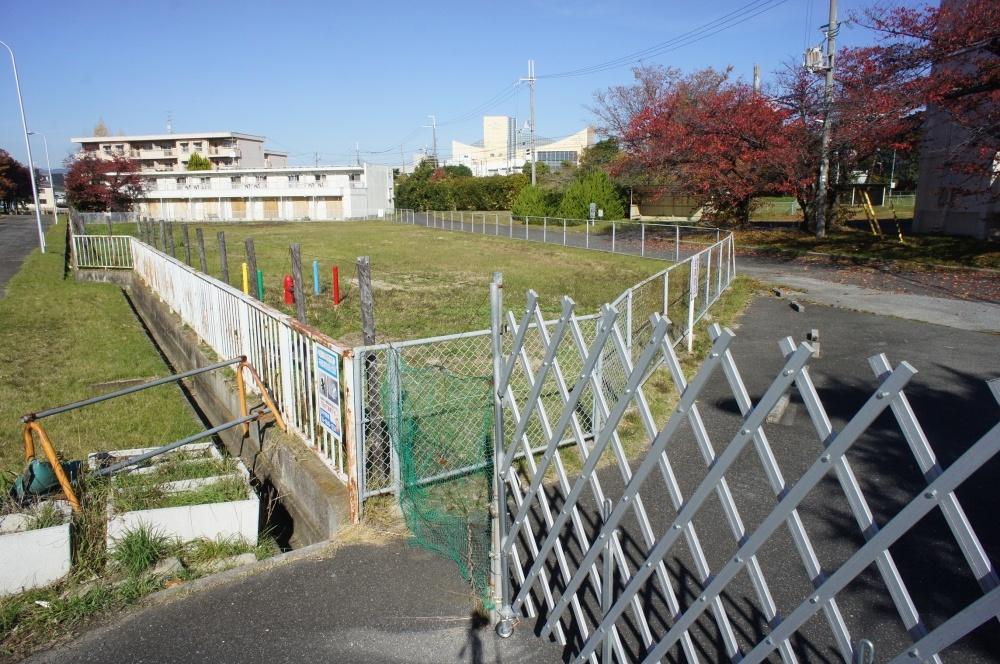 大阪航空局宿舎の公園の画像