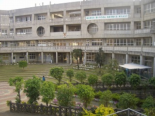 那覇市立寄宮中学校の画像