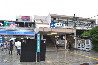 JR阪和線「堺市」駅の画像1