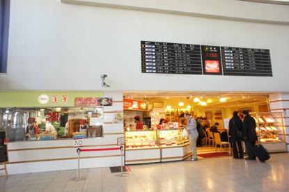 551蓬莱大阪空港店「飲茶CAFE」店の画像1