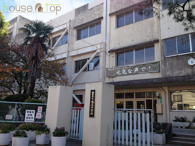 鳴尾中学校の画像
