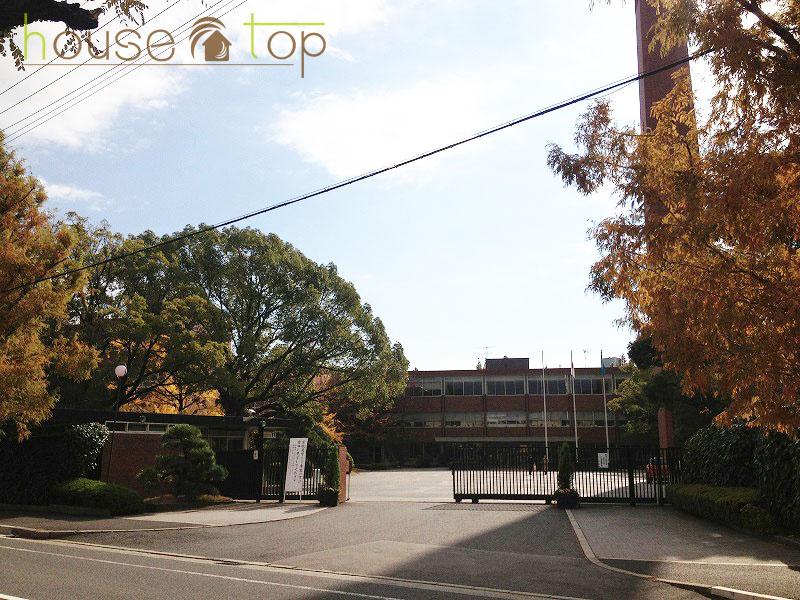 私立武庫川女子大学附属中学校の画像