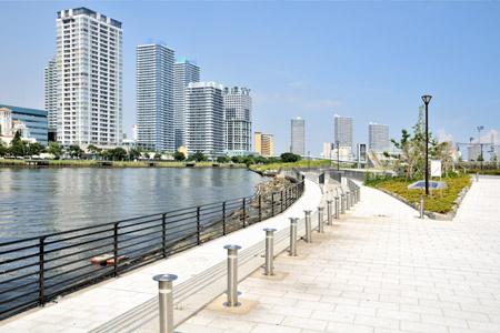 高島水際線公園の画像