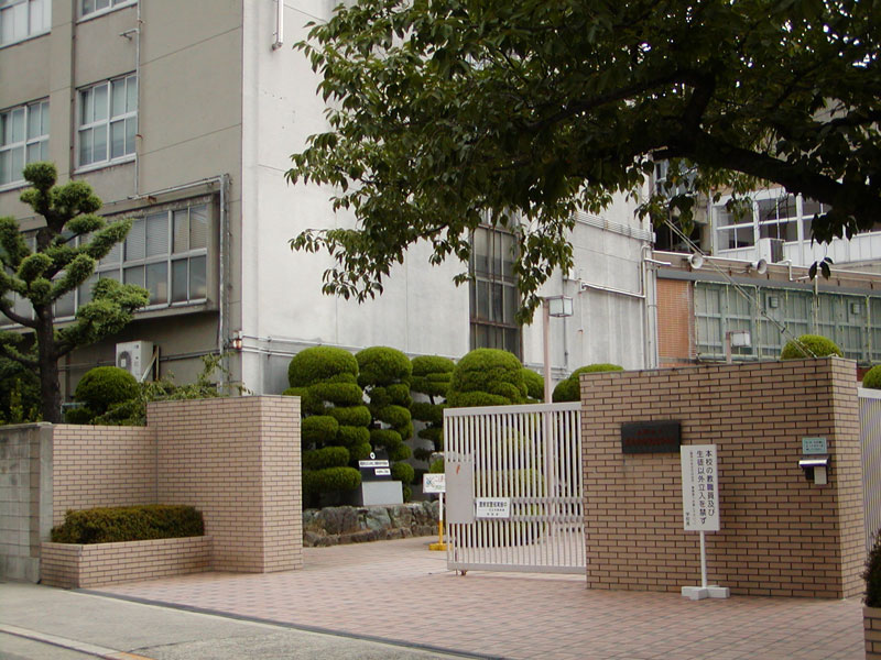 天王寺商業高校の画像