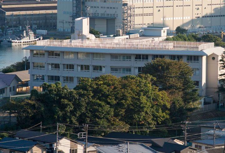 横須賀市立田浦中学校の画像