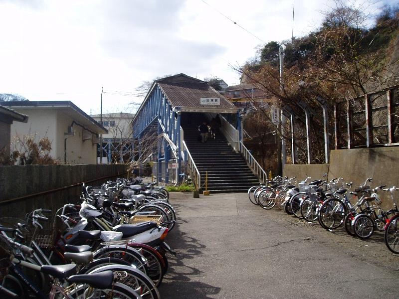 JR横須賀線田浦駅の画像