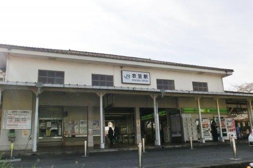 JR横須賀線衣笠駅の画像