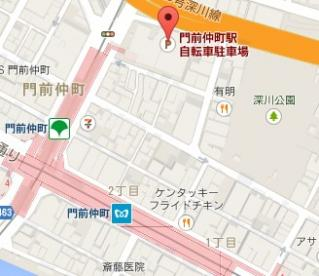 門前仲町駅自転車駐車場の画像2
