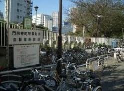 門前仲町黒船橋自転車駐車場の画像1