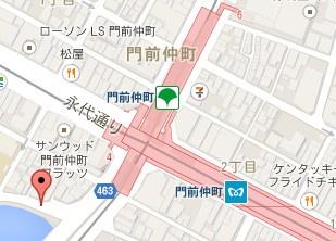 門前仲町黒船橋自転車駐車場の画像2