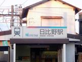 名鉄尾西線「日比野」駅