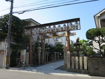堤根神社の画像1