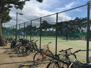 芦屋公園テニスコートの画像2