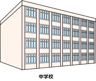 伊丹市立松崎中学校の画像1