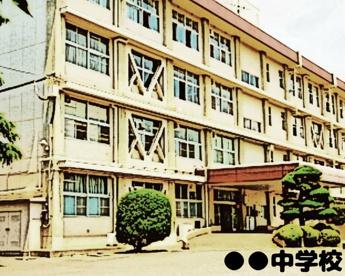 千葉市立川戸中学校の画像1
