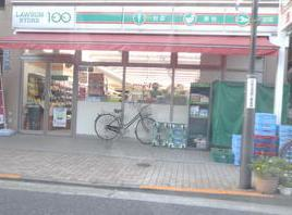 ローソン LS 矢口渡駅前の画像1