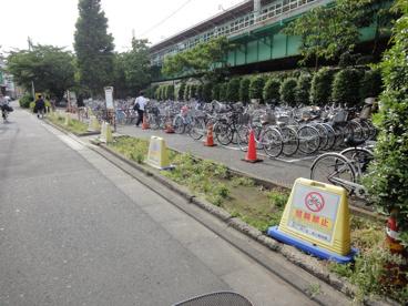 三河島駅前駐輪場の画像1