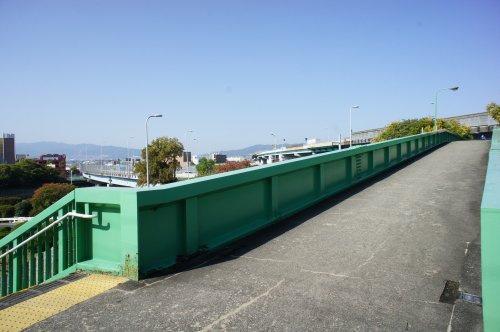 宮ノ前歩道橋の画像