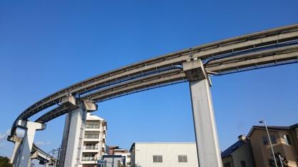 大空にド迫力のモノレール!!の画像3