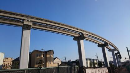 大空にド迫力のモノレール!!の画像4