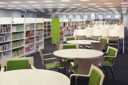 新宿区立鶴巻図書館の画像1