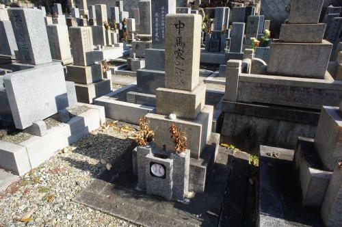 「野球」という日本語を創造された方のお墓の画像
