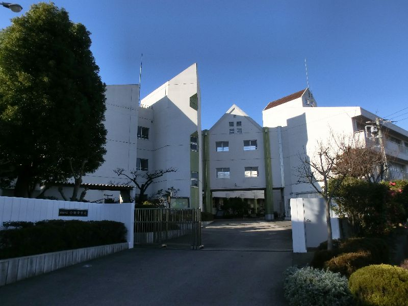 横浜市立小田中学校の画像