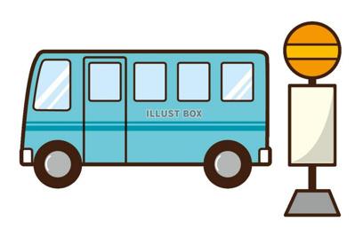 クラブ前 バス停(10系統)の画像1