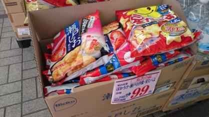激安お菓子コーナーの画像2