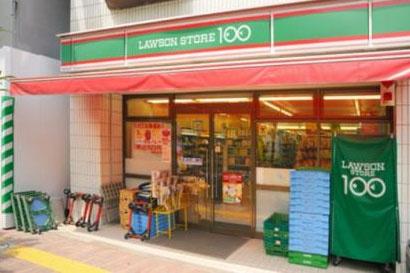 ローソンストアー100北新宿の画像1