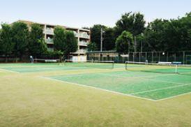 練馬区立豊玉中公園庭球場の画像1