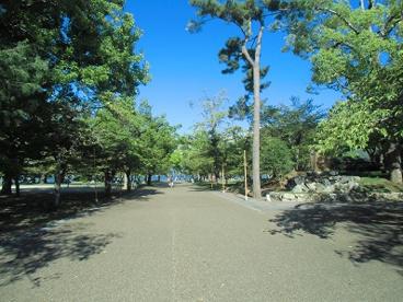 膳所城址公園内の画像1